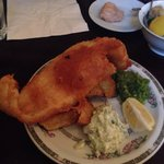 Classic fish&chips with à delicious tartar sauce !