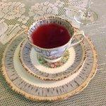 Blackberry vanilla tea - what a treat!