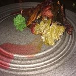 Pork Cheeks - red currant, arctic rose