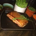 Heritage Pork Belly - glazed with roasted rice syrup