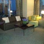 Living room/luxury suite