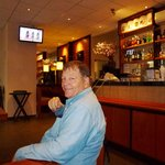 In restaurant at hotel