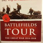 For the correct Great War Battlefields Tour, look for these graphics.