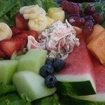 Delicious Krab and fruit salad