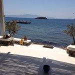 View from Elani a la carte restaurant
