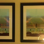 Exact Same Framed Print in Room is it Art or Sloppy Decorating?