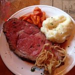 """Prime Rib """"early bird"""" special...$18.95!"""