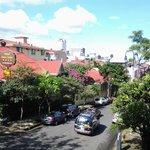 Vista desde el balcón hacia el Este