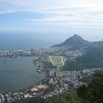 View of the Lagoa and Ipanema from Corcovado