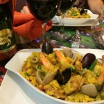 Paella and wine. Let's do this again!