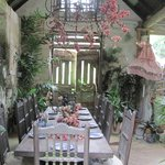 Beautiful dining area of the house