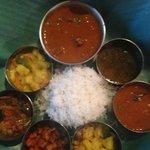Mutton Thali