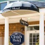 Clegg's Hotel Entrance