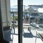 Room 407 Junior Suite balcony