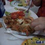 The last Garlic Shrimp - Camarones al ajo a punto de terminarse