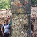 Parte del muro de Berlin