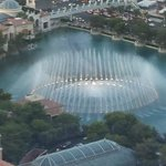 Enjoy the Bellagio fountain show