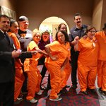 The staff dressed as Orange Is The New Black during DragonCon!!