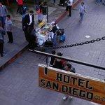Corn Vendor on the Street Below