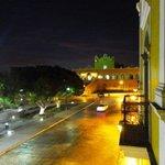 Vista del Convento desde el balcón del hotel