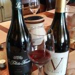 great wine in the tasting