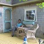 Sitting on the Porch (The Cottage)
