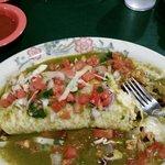 Pollo Asad burrito