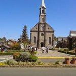 Igreja de pedra de Canela...