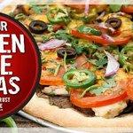Gluten free avail 12inch Medium add$5.99 only