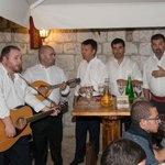 Klapa performance in the restaurant on Thursdays