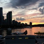 Sunset Canada Place