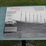 WYOMING 6-MASTED SAILING CARGO SHIP