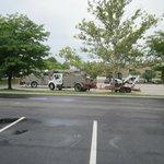 Electric utility trucks