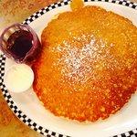 sweet cream pancake - huge