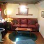 Inside Larry Bill's Cabin