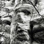 Face in Hanging Rock