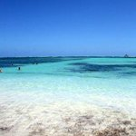 Praia do Hotel Barcelo Bavaro Palace Deluxe em Punta Cana.