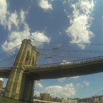 Brooklyn Bridge on my Go Pro