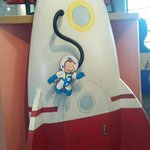 Curious George Space shuttle
