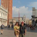 Plaza central de Venecia