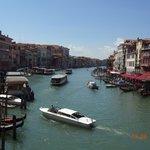 Grand Canal visto de Ponte Rialto