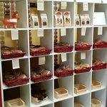 wall of cookies