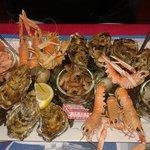 L'assiette de fruits de mer