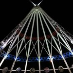 Saamis Teepee at night