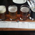 Flight of 4 local brews