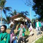 Stairs to Kampung Naga Village