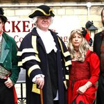 The Dickens Team at the Victorian Festival