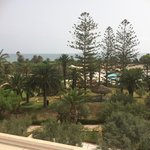 The view from our balcony... Sea & Pool View :-)
