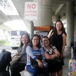 Waiting for the free shuttle from NAIA3