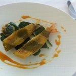 Trigli croccante raviolino di patate e spinaci